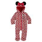 Minnie Mouse Hooded Fleece Romper for Baby - Walt Disney World