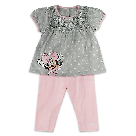 Minnie Mouse Top and Leggings Set for Baby