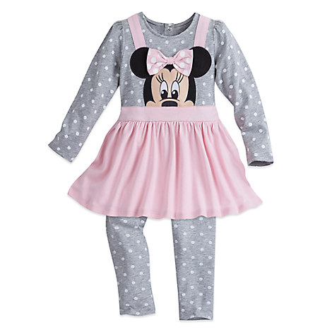 Minnie Mouse Dress Set for Toddlers