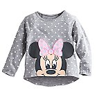 Minnie Mouse Raglan Top for Toddlers - Walt Disney World