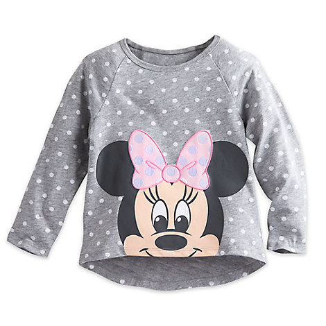 Minnie Mouse Raglan Top for Toddlers - Walt Disney World