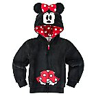 Minnie Mouse Plush Hoodie for Girls