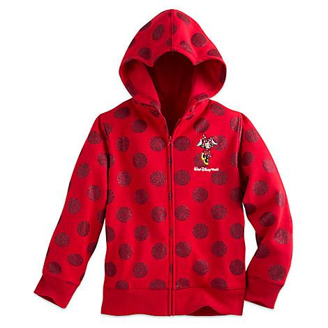 Minnie Mouse Polka Dot Hoodie for Girls - Walt Disney World