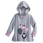 Minnie Mouse Long Sleeve Hooded Top for Girls