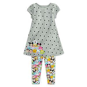 ''Tsum Tsum'' Dress and Legging Set for Girls