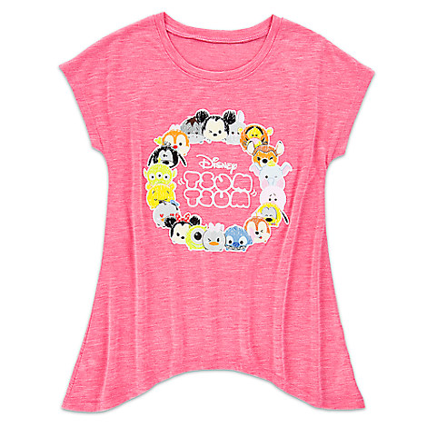 Disney ''Tsum Tsum'' Fashion Tee for Girls