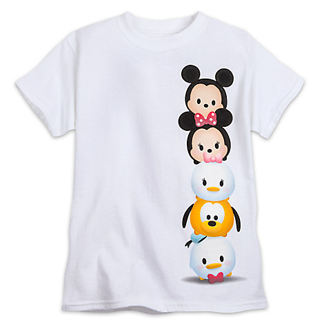 Mickey Mouse and Friends ''Tsum Tsum'' Tee for Girls