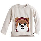 Ewok Long Sleeve Top for Kids - Star Wars