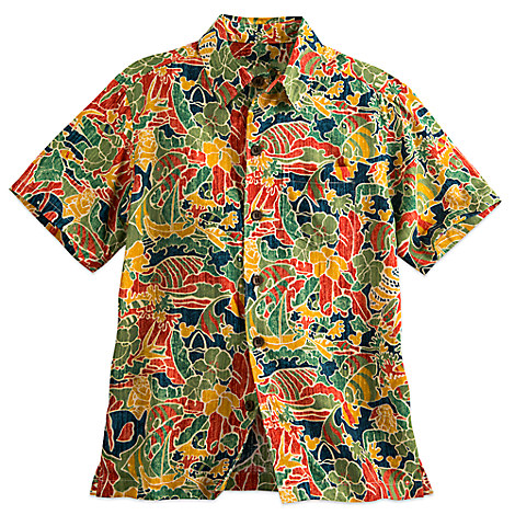 Aulani, A Disney Resort & Spa Aloha Shirt for Boys by Tori Richard