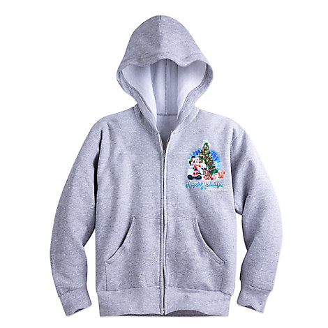 Santa Mickey Mouse and Friends Holiday Hoodie for Boys - Walt Disney World