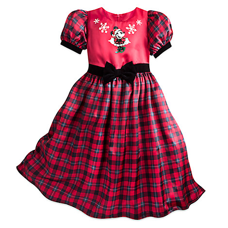 Minnie Mouse Holiday Party Dress for Girls