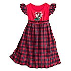 Mickey and Minnie Mouse Holiday Nightgown for Girls