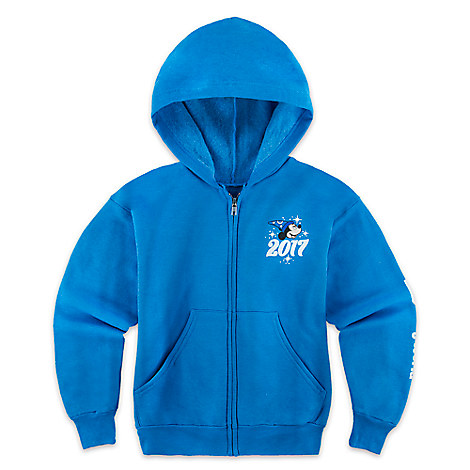 Sorcerer Mickey Mouse Hoodie for Boys - Walt Disney World 2017