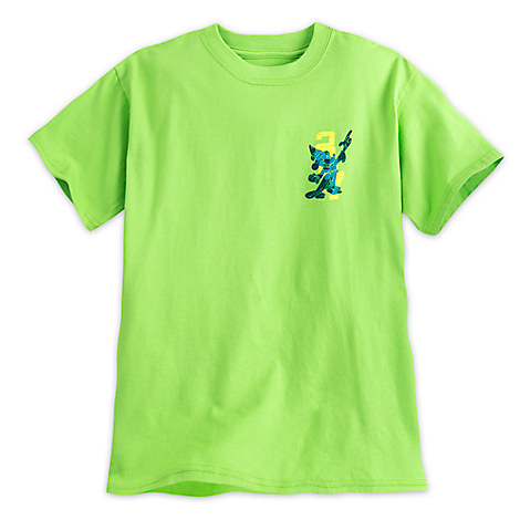 Sorcerer Mickey Mouse Tee for Boys - Walt Disney World 2017 - Lime