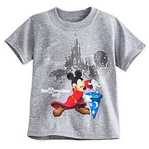 Sorcerer Mickey Mouse Tee for Toddlers – Walt Disney World 2017