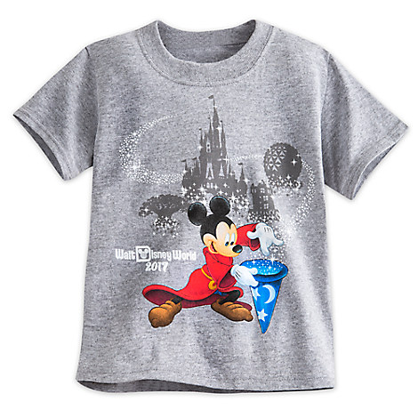Sorcerer Mickey Mouse Tee for Toddlers - Walt Disney World 2017