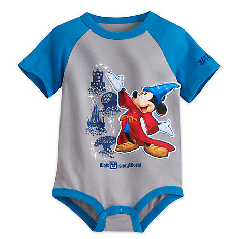 Sorcerer Mickey Mouse Bodysuit for Baby - Walt Disney World 2017