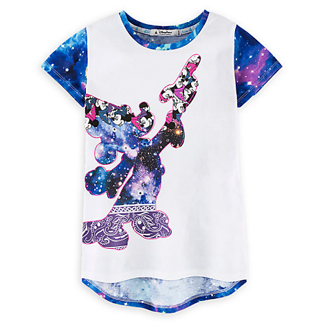 Sorcerer Mickey Mouse Tee for Girls - Walt Disney World 2017