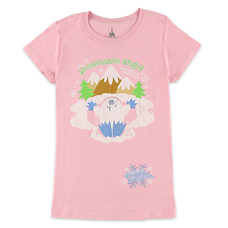Yeti Tee for Girls - Expedition Everest - Disney's Animal Kingdom - Pink