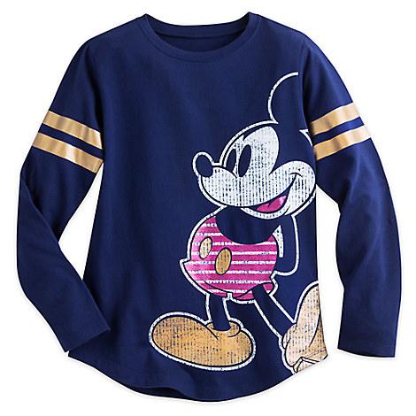 Mickey Mouse Long-Sleeve Tee for Girls - Walt Disney World