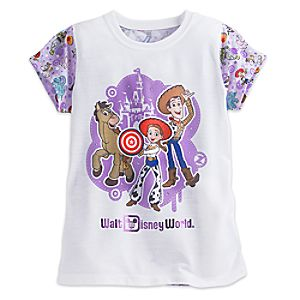Toy Story Tee for Girls - Walt Disney World