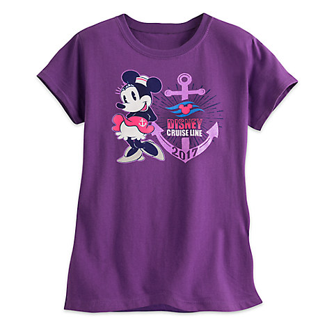 Minnie Mouse Tee for Girls - Disney Cruise Line 2017