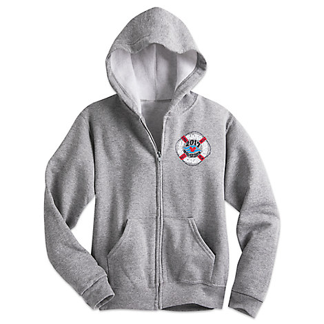 Mickey Mouse Hoodie Sweatshirt Jacket for Kids - 2017 Disney Cruise Line