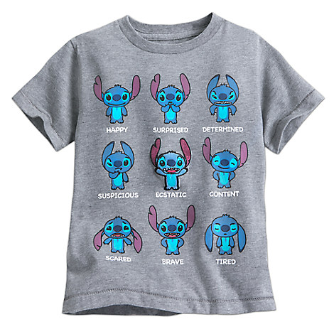 Stitch Expressions Tee for Toddler Boys