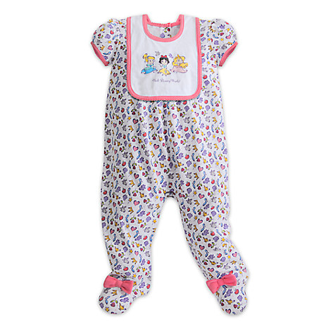 Disney Princess Cuties Coveralls with Bib for Infants - Walt Disney World