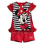 Minnie Mouse Shorts and Top Set for Toddlers
