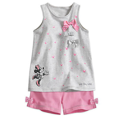 Minnie Mouse Top and Shorts Set for Toddlers - Walt Disney World