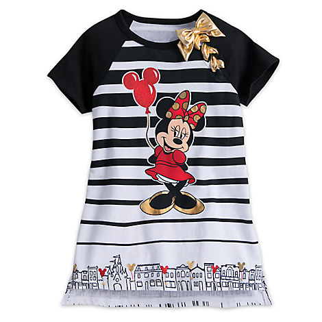 Minnie Mouse Fashion Tee with Bow for Girls - Walt Disney World