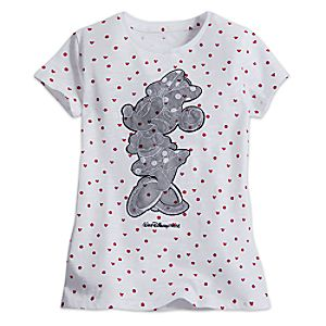 Minnie Mouse Lace Appliqué Tee for Girls - Walt Disney World