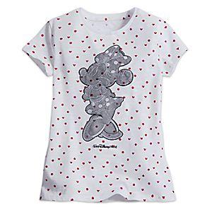 Minnie Mouse Lace Appliqué Tee for Girls - Walt Disney World