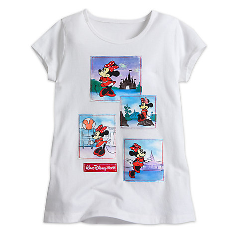 Minnie Mouse Souvenir Tee for Girls - Walt Disney World