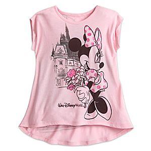 Minnie Mouse Sleeveless Tee for Girls – Walt Disney World