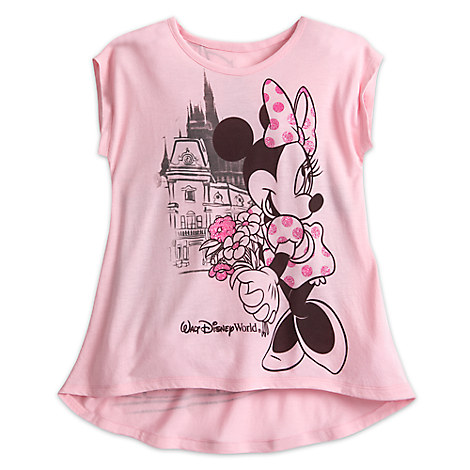 Minnie Mouse Sleeveless Tee for Girls - Walt Disney World