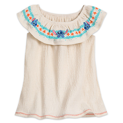 Stitch Top for Girls