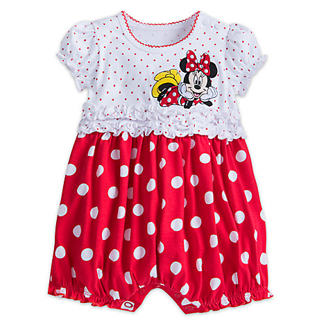 Minnie Mouse Bubble Bodysuit for Girls