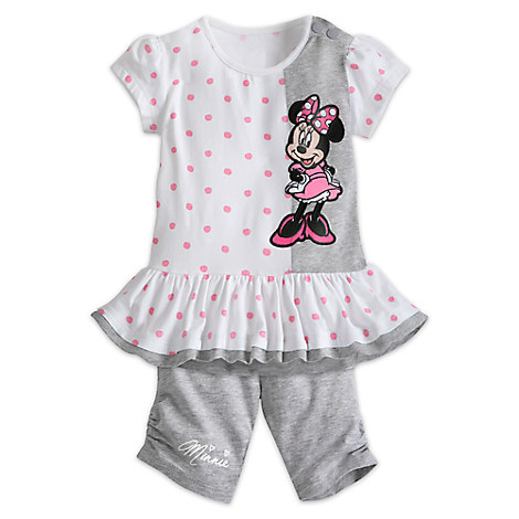 Minnie Mouse Top and Shorts Set for Baby