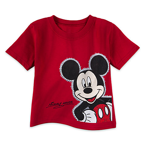 Mickey Mouse Outline Tee for Toddlers