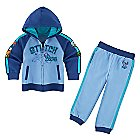 Stitch Fleece Hoodie and Pants Set for Toddlers