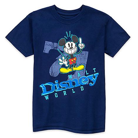 Mickey Mouse ''71'' Tee for Boys - Walt Disney World
