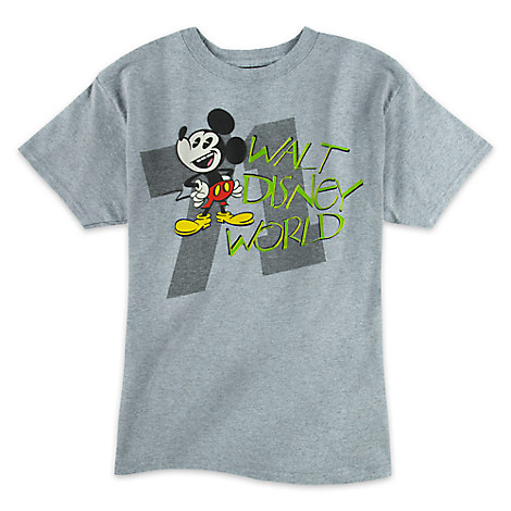 Mickey Mouse Heathered Tee for Boys - Walt Disney World