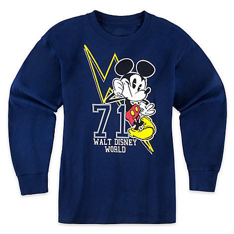 Mickey Mouse Lightning Long Sleeve Tee for Boys - Walt Disney World