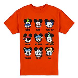 Mickey Mouse Personality Tee for Boys