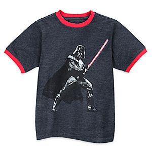 Darth Vader Ringer Tee for Boys