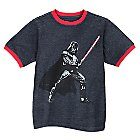 Darth Vader Ringer Tee for Boys