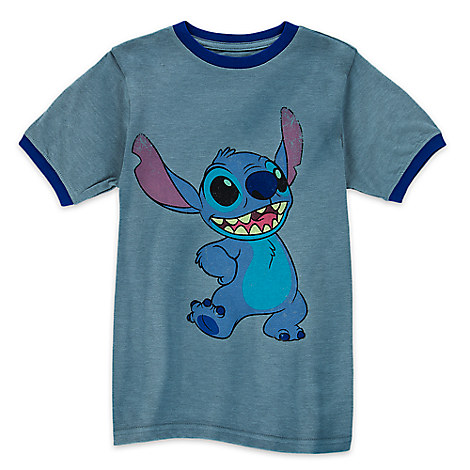 Stitch Ringer Tee for Boys