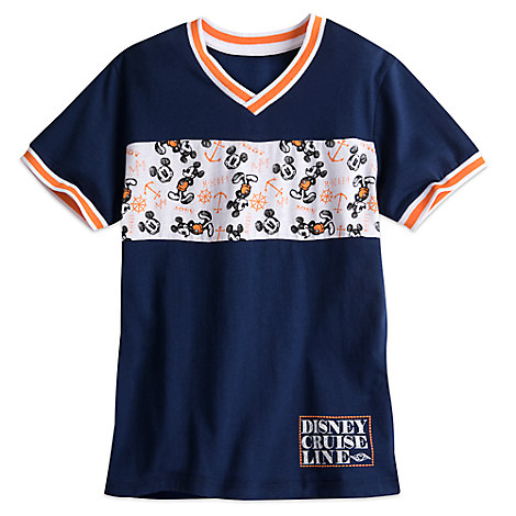 Mickey Mouse V-Neck Tee for Boys - Disney Cruise Line